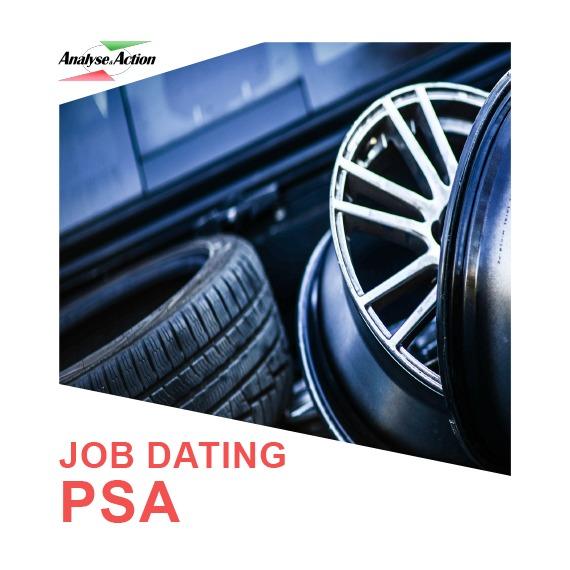 Analyse & Action job dating PSA Randstad